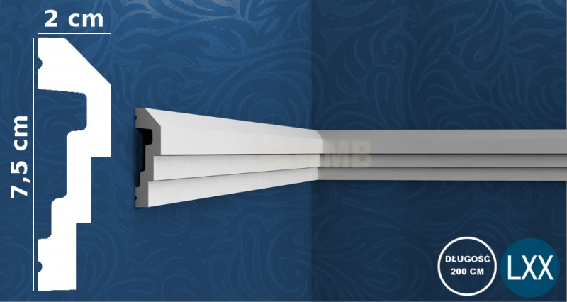 Wall Moulding P7070 Flex