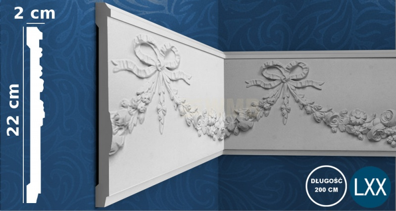Wall Moulding P7080