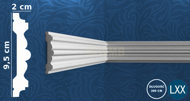 Wall Moulding P9020