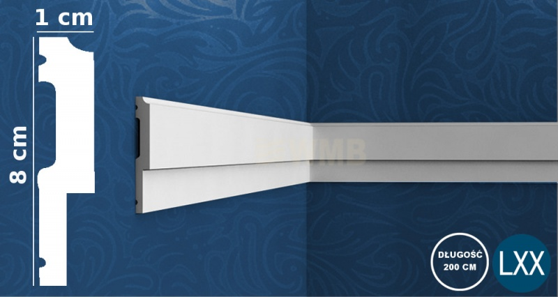 Wall Moulding P9900 Flex
