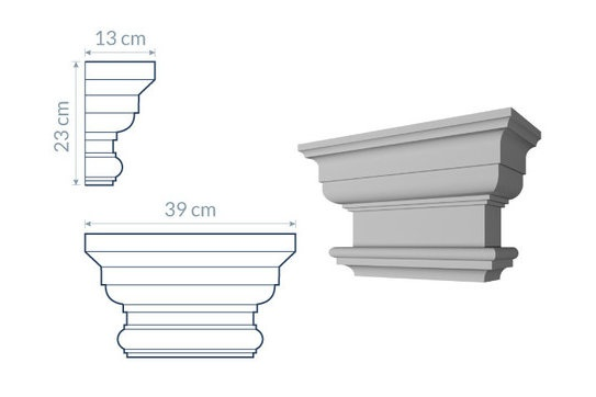 Pilaster Head PG2