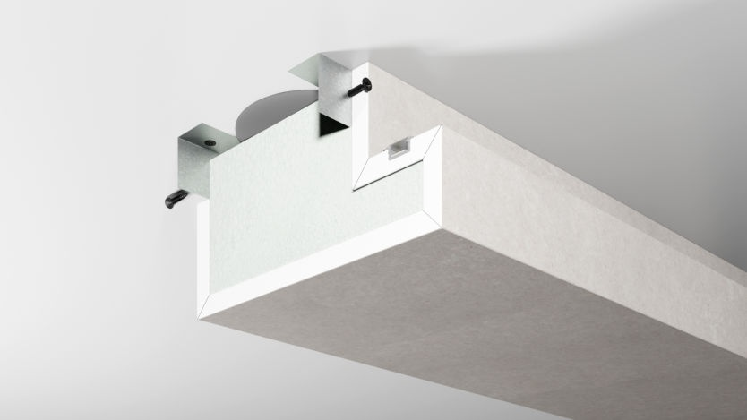 Montaż półki LED