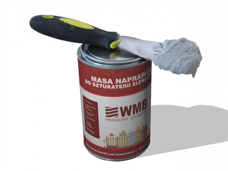 Repair Compound for Stucco