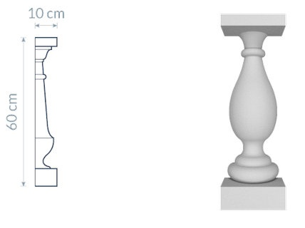 Decorative Baluster TR1