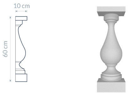 Decorative Baluster TR3