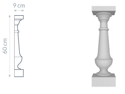 Decorative Baluster TR4