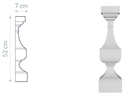 Decorative Baluster TR5