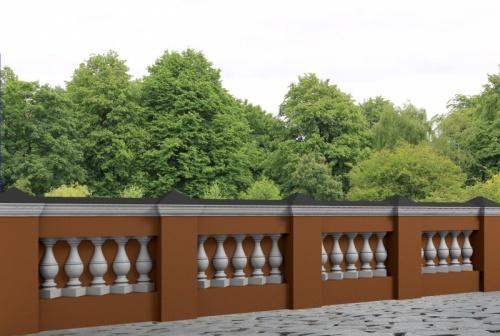 Wizualizacja produktu Decorative Baluster TR2