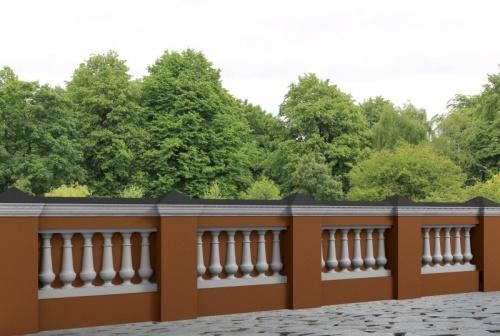 Wizualizacja produktu Decorative Baluster TR4