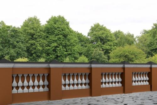 Wizualizacja produktu Decorative Baluster TR5