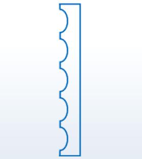 Wizualizacja produktu Pilaster K200
