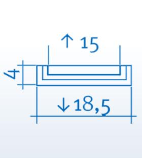 Wizualizacja produktu Pilaster K202