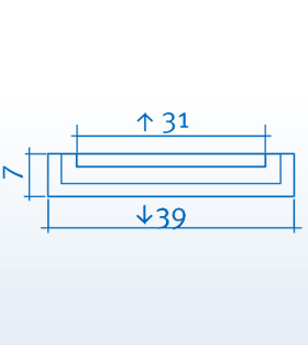 Wizualizacja produktu Pilaster Base K254