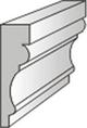 Wizualizacja produktu Listwa elewacyjna L1