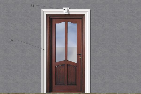 Wizualizacja produktu Наборы фасадная лепные украшения ZO25