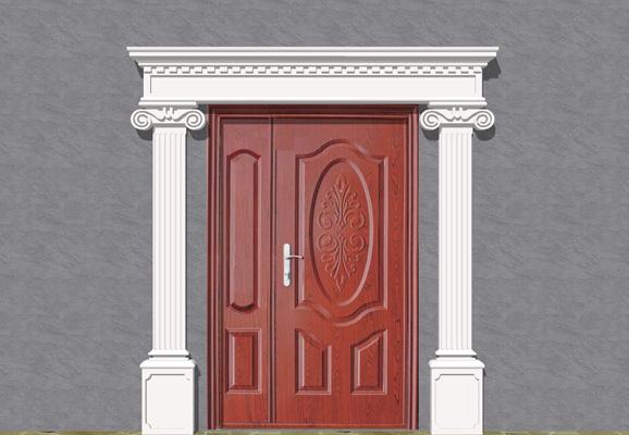 Wizualizacja produktu Наборы фасадная лепные украшения ZO28