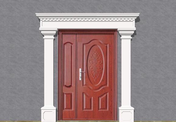 Wizualizacja produktu Наборы фасадная лепные украшения ZO29