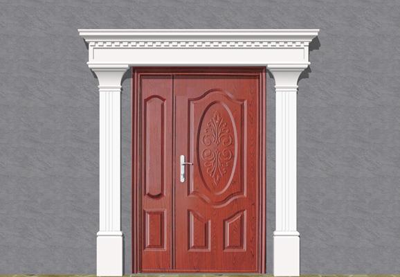 Wizualizacja produktu Наборы фасадная лепные украшения ZO30