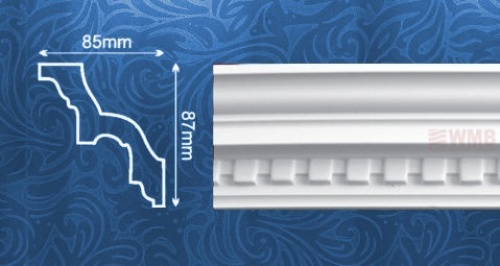Wizualizacja produktu Ceiling Molding MDA002