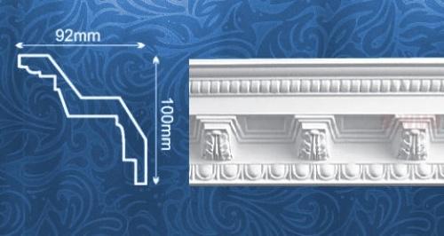 Wizualizacja produktu Listwa sufitowa MDA007