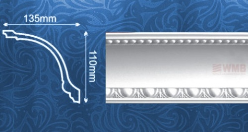 Wizualizacja produktu Ceiling Molding MDA040F