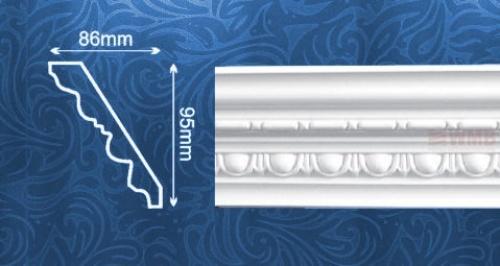 Wizualizacja produktu Ceiling Molding AA090
