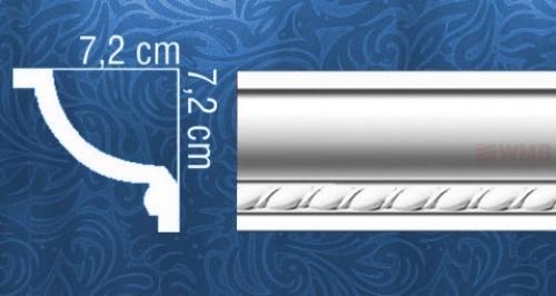 Wizualizacja produktu Listwa sufitowa MDA121