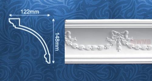 Wizualizacja produktu Ceiling Molding MDA218