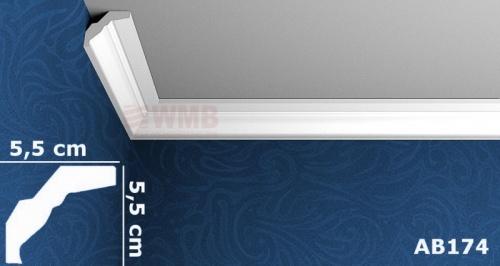 Wizualizacja produktu Ceiling Molding MDB174