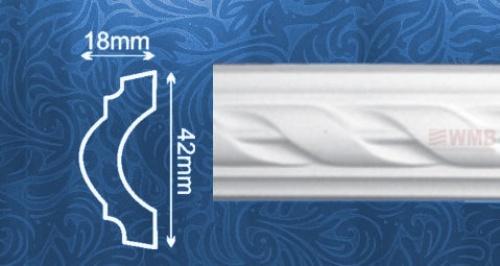 Wizualizacja produktu Listwa naścienna AC204F
