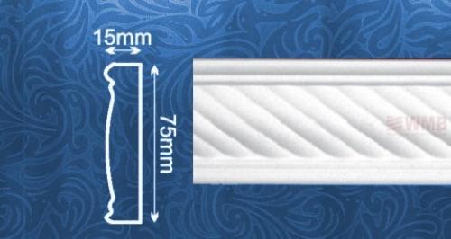 Wizualizacja produktu Listwa naścienna MDC239F