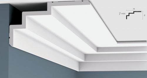 Wizualizacja produktu Ceiling Moulding C392