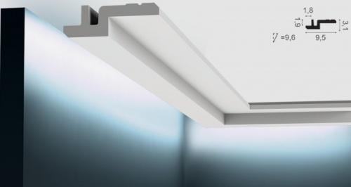 Wizualizacja produktu Faseta oświetleniowa C394