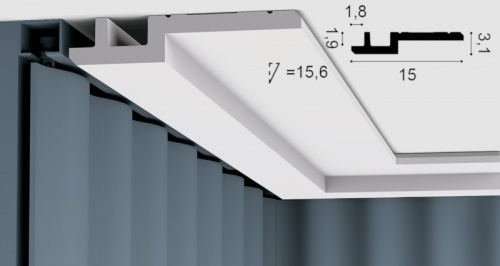 Wizualizacja produktu Light Moulding C395