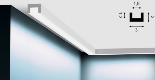 Wizualizacja produktu Faseta oświetleniowa CX190