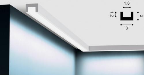 Wizualizacja produktu Light Moulding CX190