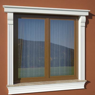 Wizualizacja produktu Window Cornice GO5