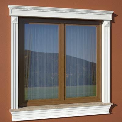 Wizualizacja produktu Window Cornice GO6