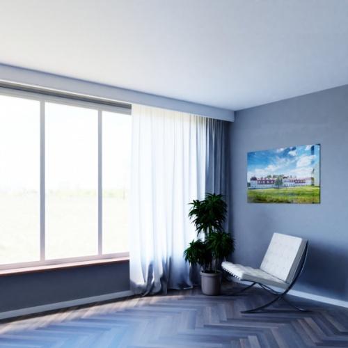 Wizualizacja produktu Curtain Moulding KS03