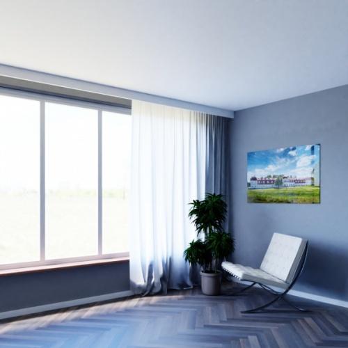 Wizualizacja produktu Curtain Moulding KS04