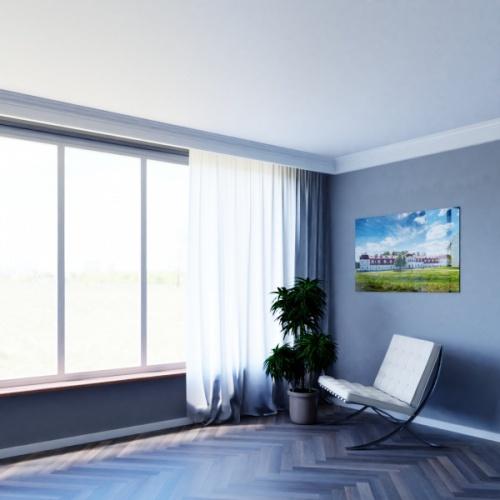 Wizualizacja produktu Curtain Moulding KS06
