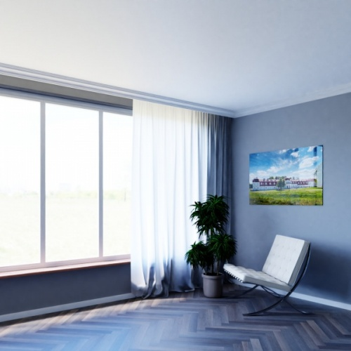 Wizualizacja produktu Curtain Moulding KS07