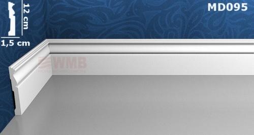 Wizualizacja produktu Listwa podłogowa HD MD095