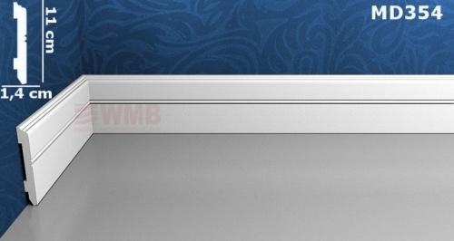 Wizualizacja produktu Listwa podłogowa HD MD354