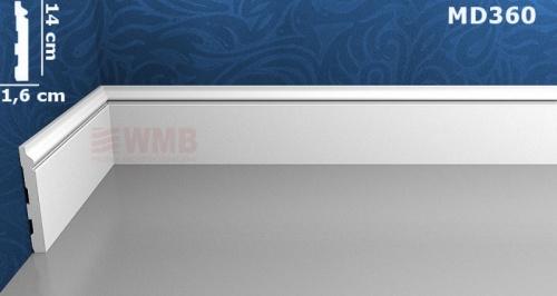 Wizualizacja produktu Listwa podłogowa HD MD360