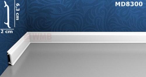 Wizualizacja produktu Listwa podłogowa HD MD8300