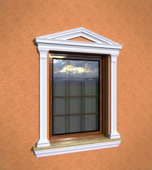 Wizualizacja produktu Pediment NA6