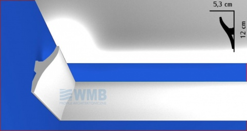 Wizualizacja produktu Lighting molding QL010
