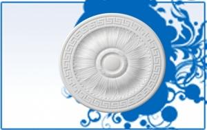 Wizualizacja produktu Decorative Rosette R23