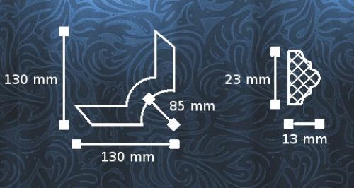 Wizualizacja produktu NMC Corner SP3-4